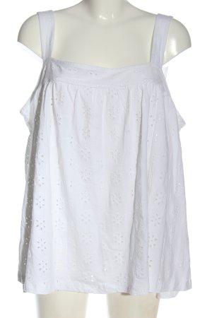 Asos Top o kroju litery A biały W stylu casual