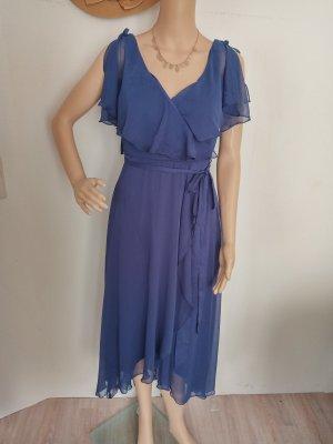 asos Abendkleid blau 36 neu
