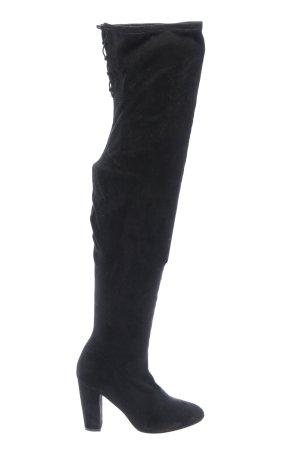 Asos Absatz Stiefel schwarz Elegant