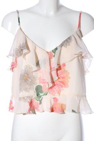Asos ärmellose Bluse Blumenmuster Casual-Look