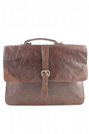 Asos Briefcase brown business style