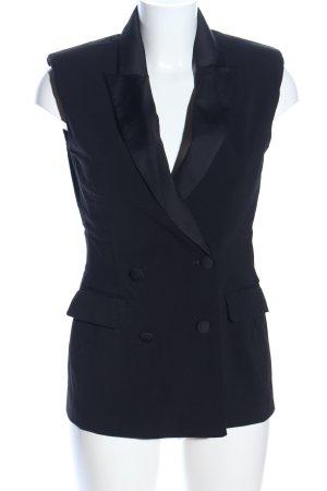 Asos Waistcoat black elegant