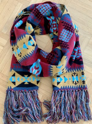 Asos Knitted Scarf multicolored mixture fibre