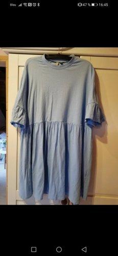 asos babyblau baby doll Rüschen Kleid