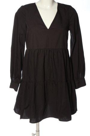 Asos Sukienka typu babydoll czarny W stylu casual