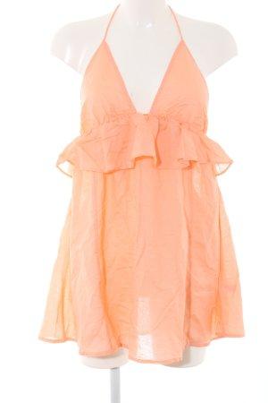 Asos Abito baby-doll arancione chiaro stile casual