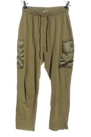 Asos Baggy broek khaki casual uitstraling