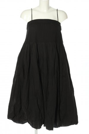 Asos Ballonkleid schwarz Business-Look