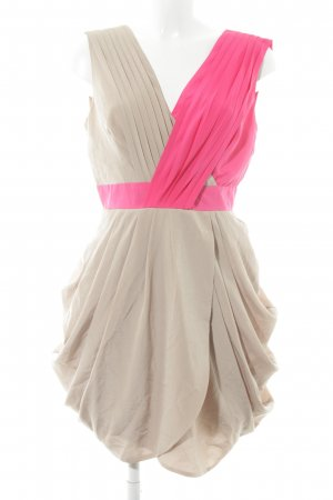 Asos Ballonkleid camel-pink Party-Look
