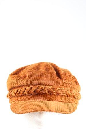 Asos Baker's Boy Cap brown casual look