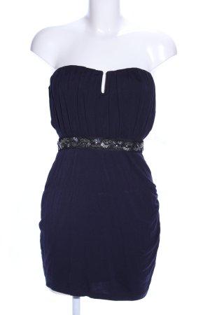 Asos Bandeau Dress blue elegant