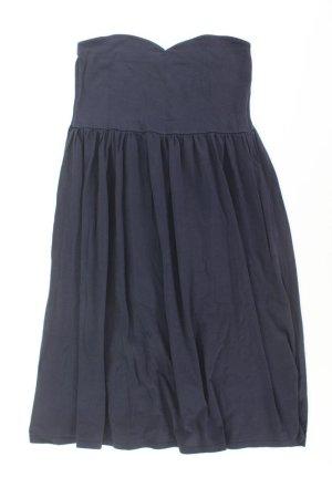 Asos Bandeau Dress blue-neon blue-dark blue-azure cotton