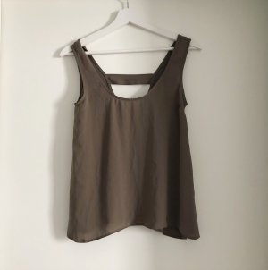 Asos Basic Camisole Top mit Cut Outs XS 34