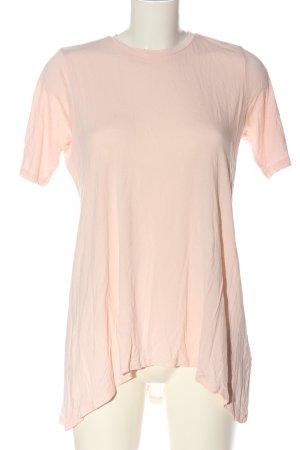 Asos Basic Shirt pink casual look