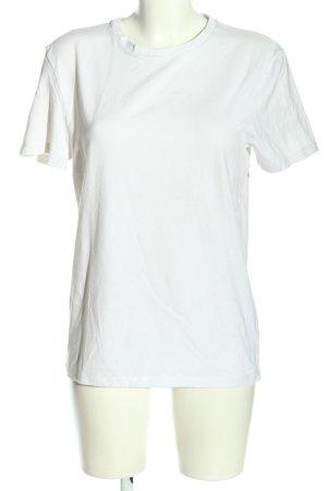 Asos Basic-Shirt weiß Casual-Look
