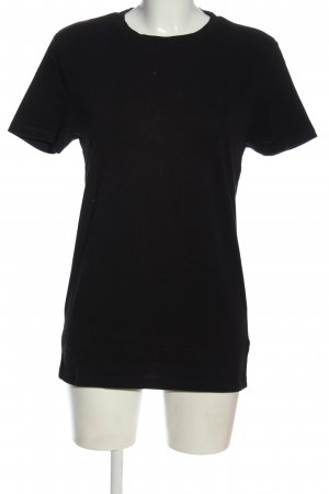 Asos Basic-Shirt schwarz Casual-Look