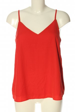 Asos Basic Top red casual look