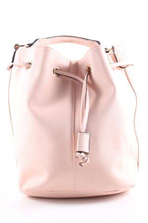 Asos Torebka typu worek różowy W stylu casual