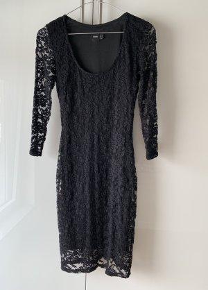 ASOS Black Dress Aus Spitze Gr.36/S Neu