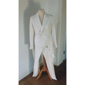 Asos Suit Trouser white