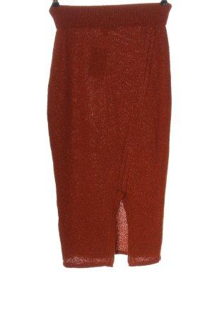 Asos Pencil Skirt brown flecked casual look