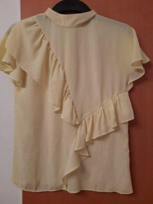 Asos Bluzka z krótkim rękawem żółty