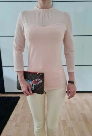 Asos Bluse XS S 34 36 rosa Hemd Shirt Top Oberteil Tunika Neu