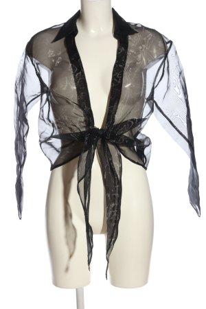 Asos Blusenjacke schwarz Elegant