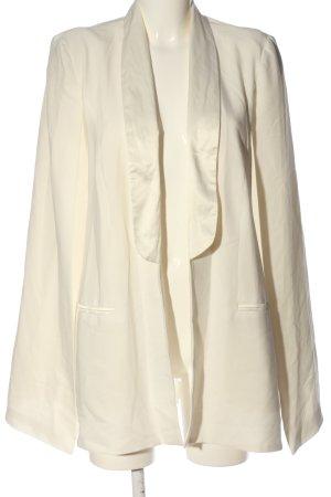 Asos Marynarka koszulowa kremowy W stylu biznesowym