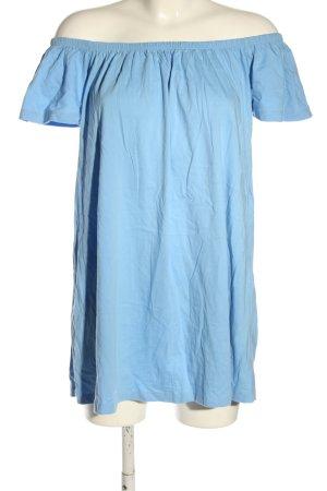 Asos Blusenkleid blau Casual-Look