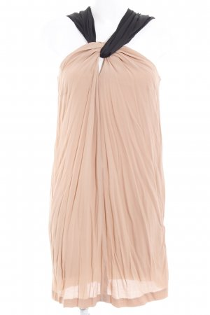 Asos Blusenkleid nude-schwarz schlichter Stil