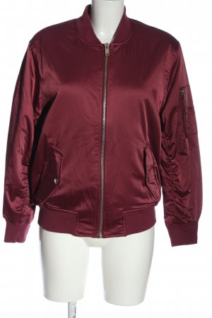 Asos Giacca bomber rosso stile casual