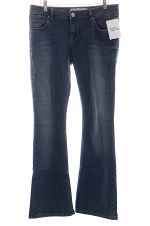 Asos Boot Cut Jeans blau Casual-Look