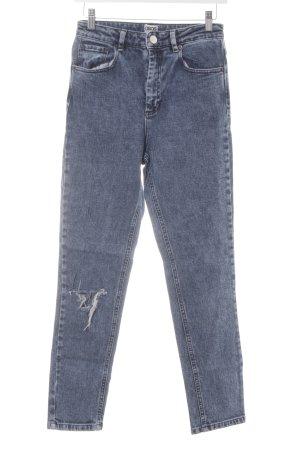 Asos Jeans boyfriend bleu style décontracté