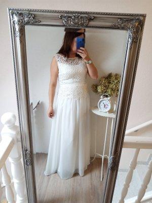 Asos Brautkleid Elfenbein weiß 40