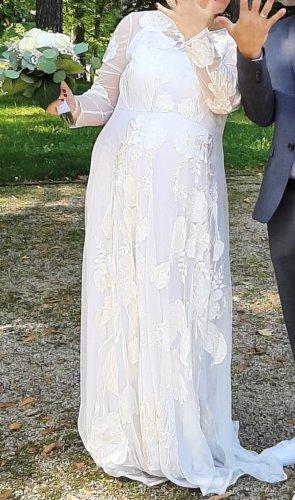 Asos Sukienka o kroju litery A biały