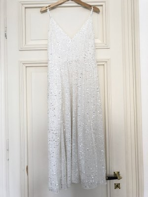 Asos Robe de mariée blanc-argenté
