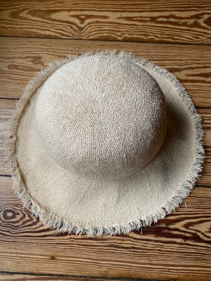 Asos Straw Hat gold-colored