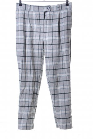 Asos Pleated Trousers check pattern casual look
