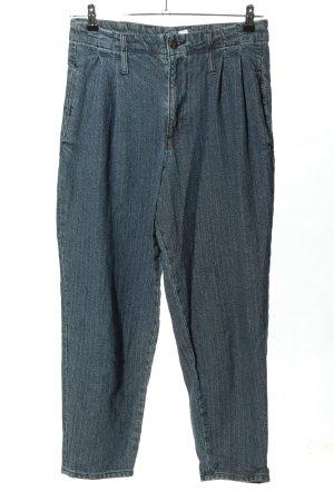 Asos Pantalon à pinces bleu style décontracté