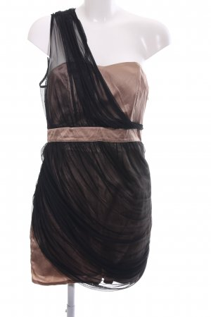 Asos Bustierkleid schwarz-nude Business-Look