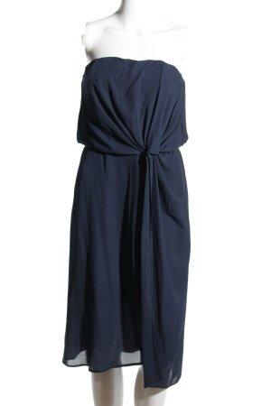 Asos Bustierjurk blauw klassieke stijl