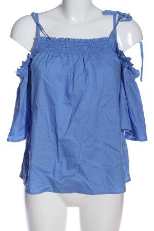 Asos Carmen-Bluse blau Casual-Look