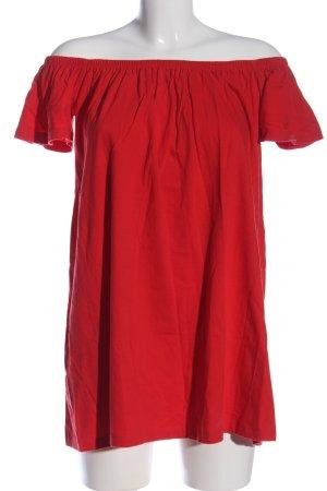Asos Top épaules dénudées rouge style décontracté