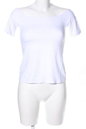 Asos Camisa tipo Carmen blanco look casual