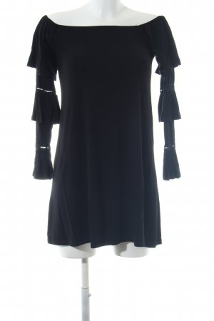 Asos Camisa tipo Carmen negro look casual