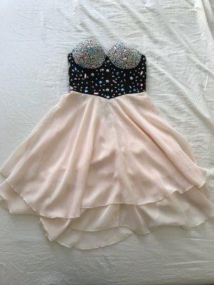 Asos Chiffon jurk veelkleurig