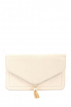 Asos Clutch wollweiß Casual-Look
