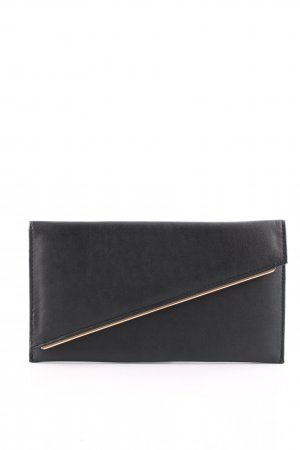 Asos Clutch schwarz Business-Look