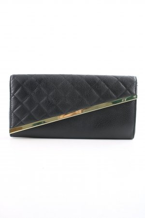 Asos Clutch schwarz Steppmuster Business-Look